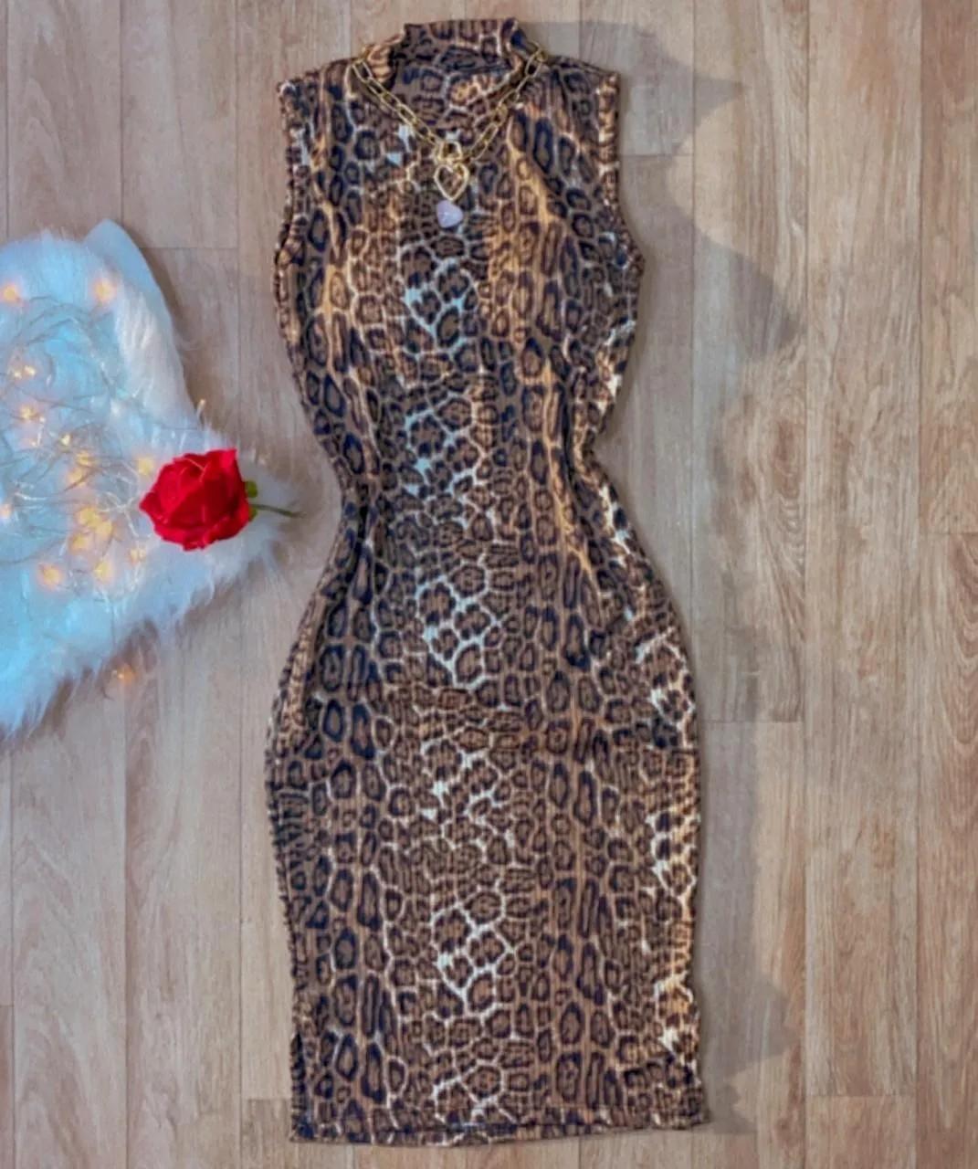 Vestido de Onça - Midi