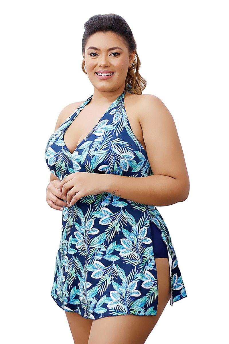 d9c3fd76b Maiô Saída De Praia Vestido Saia Plus Size Do 48 ao 52