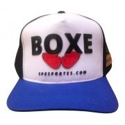 Boné Boxe Sp Esportes Cap Trucker Snapback Silk Alto Relevo