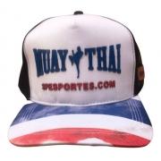 Boné Muay Thai Sp Esportes Cap Trucker Snapback Silk