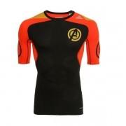 Camisa De Compressão adidas Ed Especial Marvel Vingadores