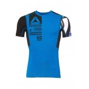 Camisa de compressão Reebok Delta crossfit running AX9465