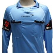 Camisa Feminina Para Juiz Penalty Arbitro Federação Futebol