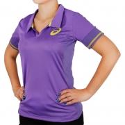 Camisa polo feminina Asics tênis