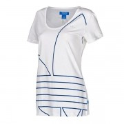 Camiseta adidas Originals Batinha Estampa Tipo Marinheiro