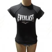Camiseta Rashguard Feminina Everlast Jiu Jitsu Surf Mma