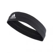 Faixa adidas Testeira Atoalhada Preta Headband Bordada Para Tenistas S97910