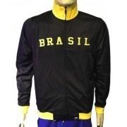 Jaqueta Masculina Preta Olympikus Brasil Olimpíadas E Copa