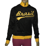 Jaqueta Preta Feminina Olympikus Brasil Copa E Olimpíadas