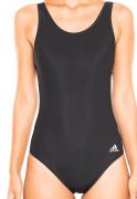 Maiô preto Adidas body com forro natação training BS4775