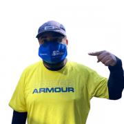 Máscara personalizada de feltro Campanha SP Esportes