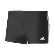 Sunga Boxer Adidas Infinitex shorts de natação praia 3s black white