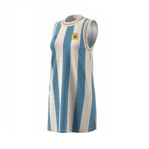 Vestido adidas Originals Seleção Argentina Ed Especial Retrô