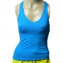 Camiseta Regata Nike Fitness Com Top Embutido azul 380402
