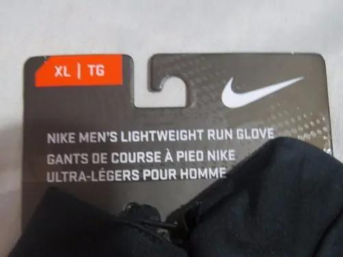 Luva de corrida Nike Elite Running rubro negra com Porta Chave