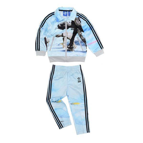 Agasalho Infantil adidas Originals Star Wars Conjunto Calça E Jaqueta Ab1847