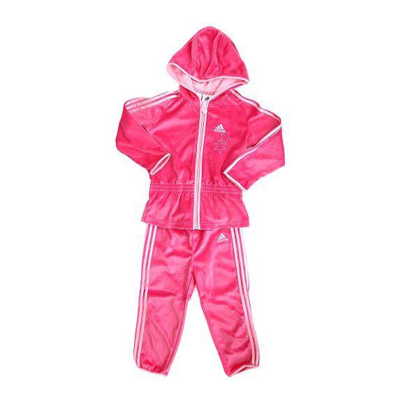 Agasalho Infantil adidas Plush Conjunto Jaqueta Calça G83712