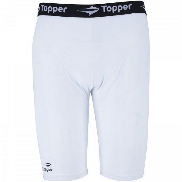 Bermuda Térmica Topper Shorts De Compressão Futebol Running