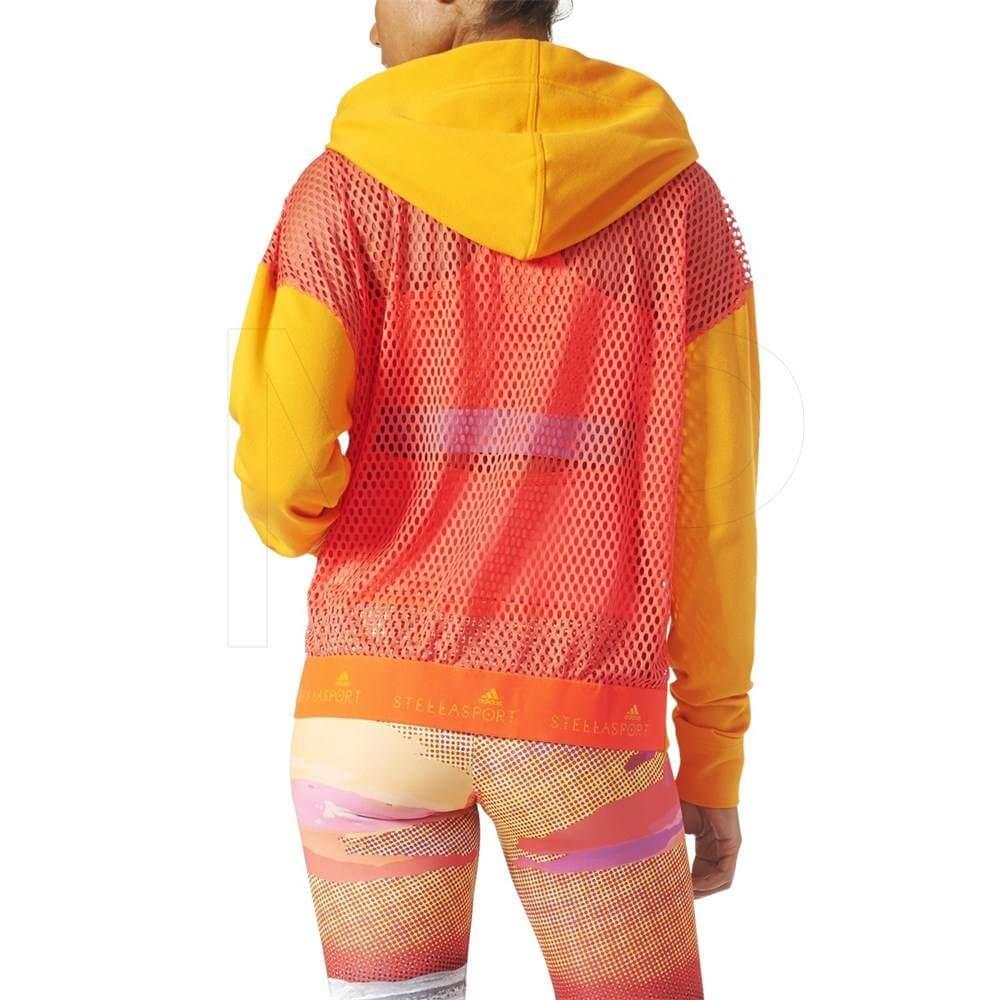 Blusa Adidas Stella McCartney moletom com capuz AZ7761