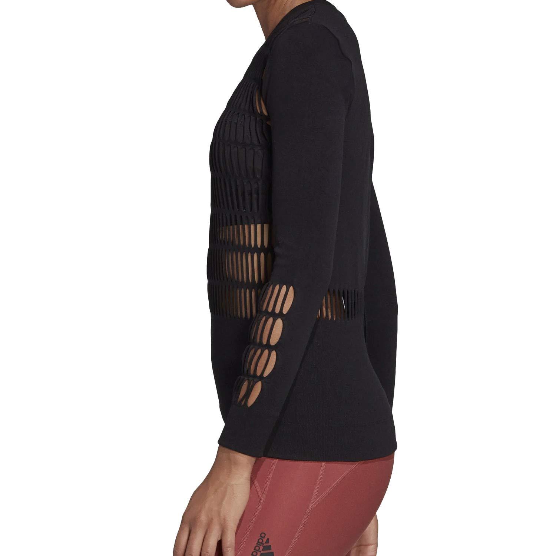 Blusa feminina Adidas Stella McCartney Parley furos a laser DY4181