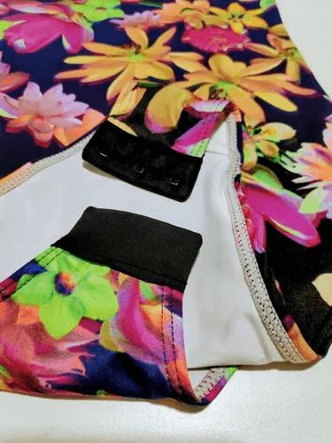 Body Regata Lupo Loba Trend Estampa Floral 47006 Fit Casual