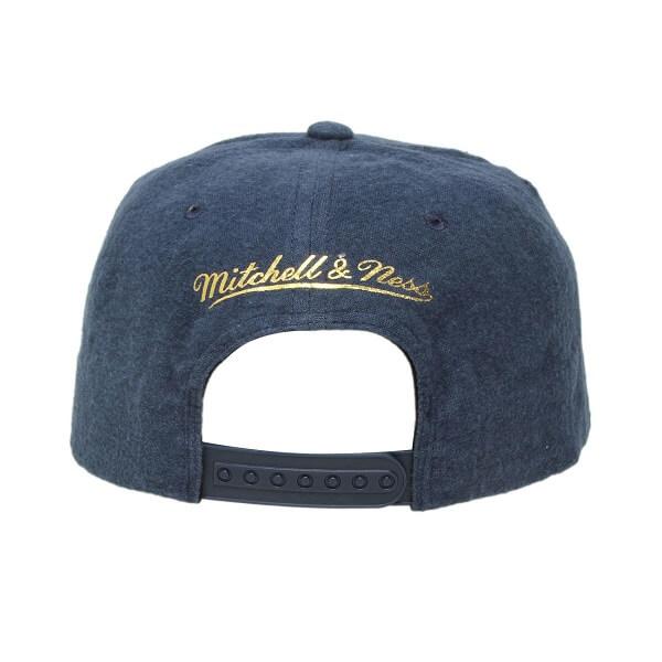 Boné Azul Premium Mitchell & Ness Golden State Warriors Nba