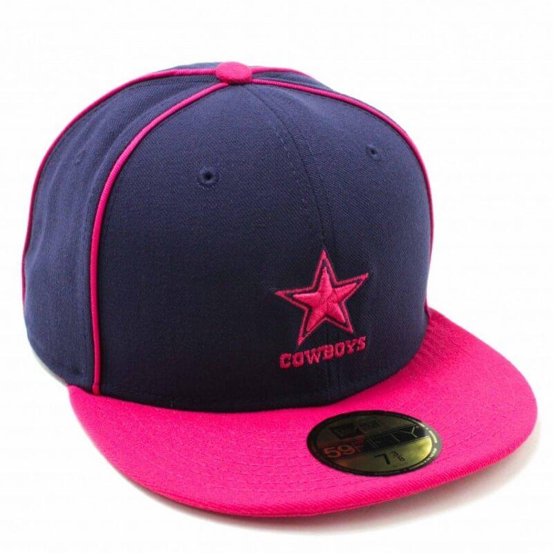 Boné New Era Dallas Cowboys Nfl Fechado De Aba Reta