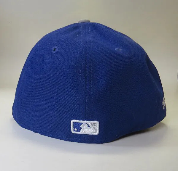 Boné New Era Fechado Aba Reta Mlb Ny Brooklyn Dodgers