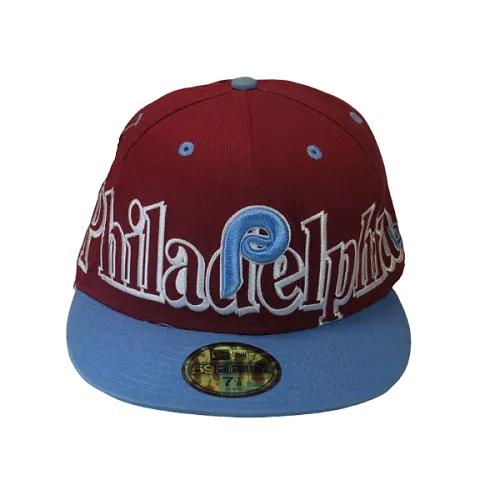 Boné New Era Philadelphia Phillies Mlb Fechado De Aba Reta