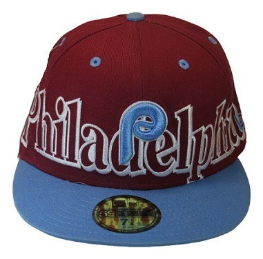 Boné New Era Philadelphia Phillies Mlb Fechado De Aba Reta