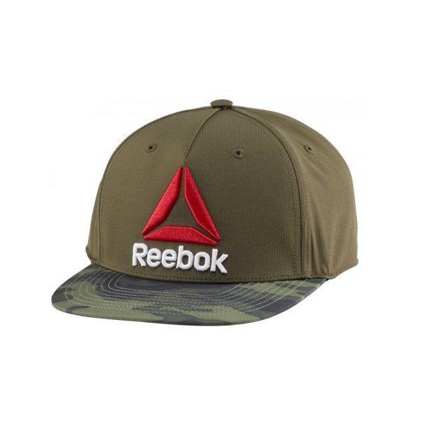 Boné Reebok Aba Reta Camuflada Snapback Cap Logo Delta Ufc