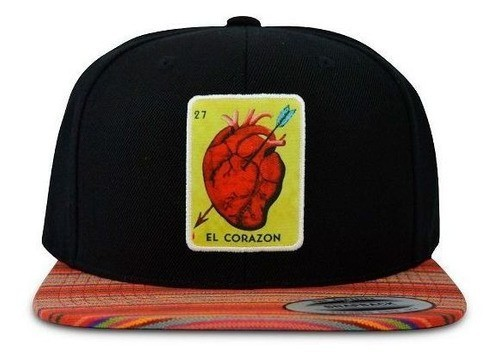 Boné True Heart Aba Reta El Corazon Cap Hip Hop Sp Top