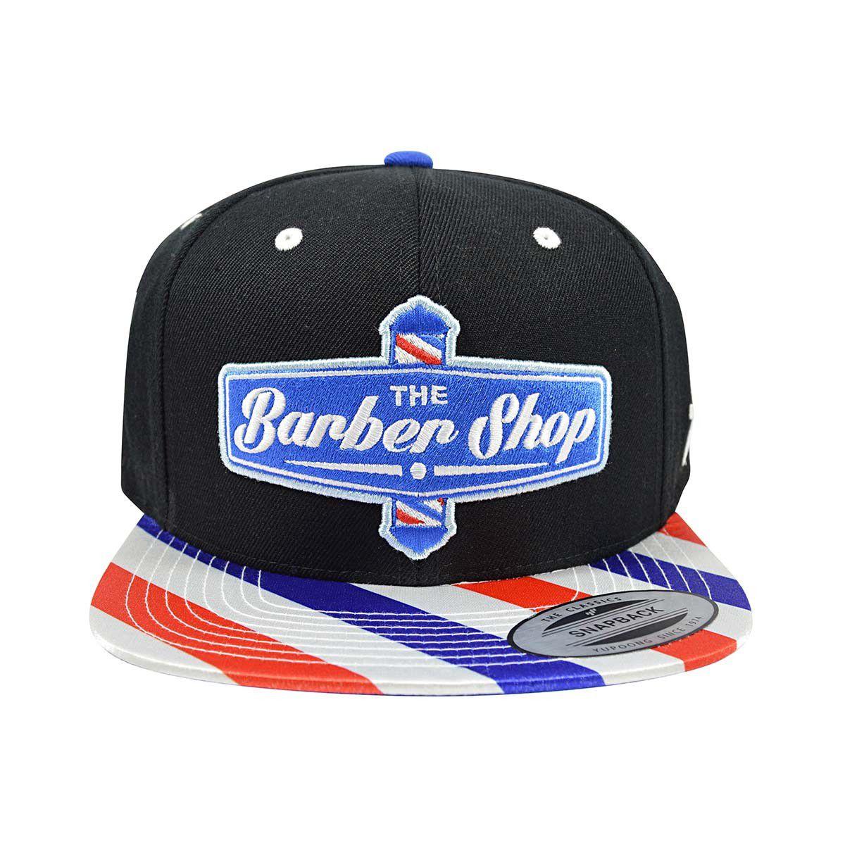 Boné True Heart Barber Shop American Aba Reta Snapback