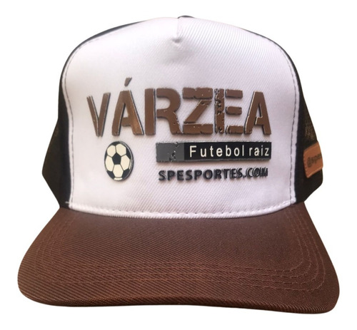Boné Várzea Futebol Raiz Sp Esportes Trucker Snapback