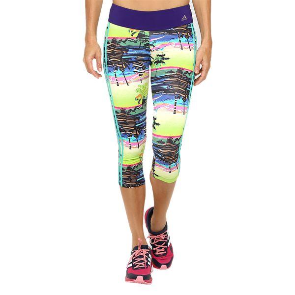 Calça adidas Salinas Corsário Academia Running Crossfit