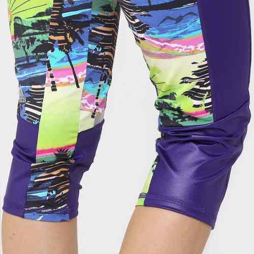 Calça Corsário Adidas Salinas Academia Crossfit Casual Fit