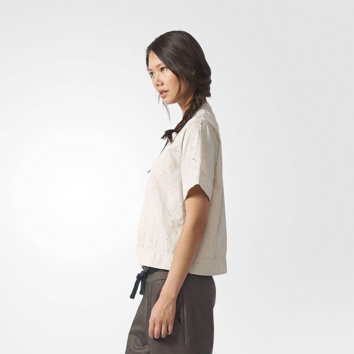 Camisa adidas Originals Furos A Laser Estilo Oriental