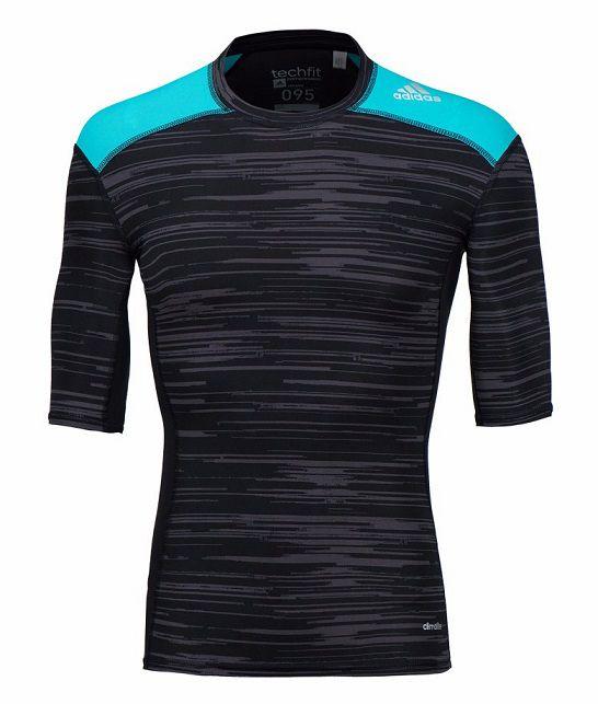 Camisa Compressão adidas Corrida De Rua Crossfit Mma Bk3560