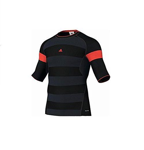 Camisa Compressão adidas Listrada Térmica Running G70397