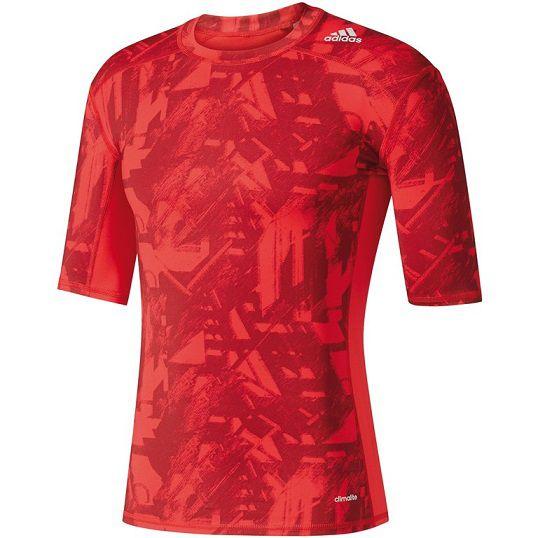 Camisa Compressão Adidas Techfit Graphic Run Térmica Bk1197