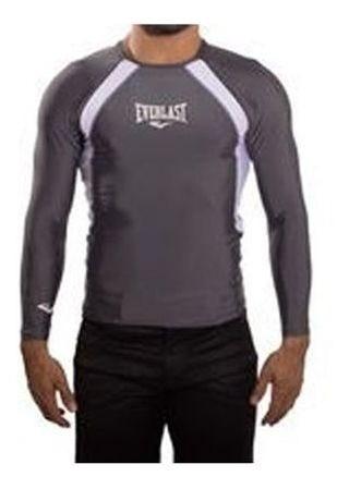 Camisa Compressão Everlast Rash Guard Jiu Jitsu submission Mma