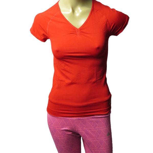 Camisa Compressão Feminina adidas Techfit Running Modeladora