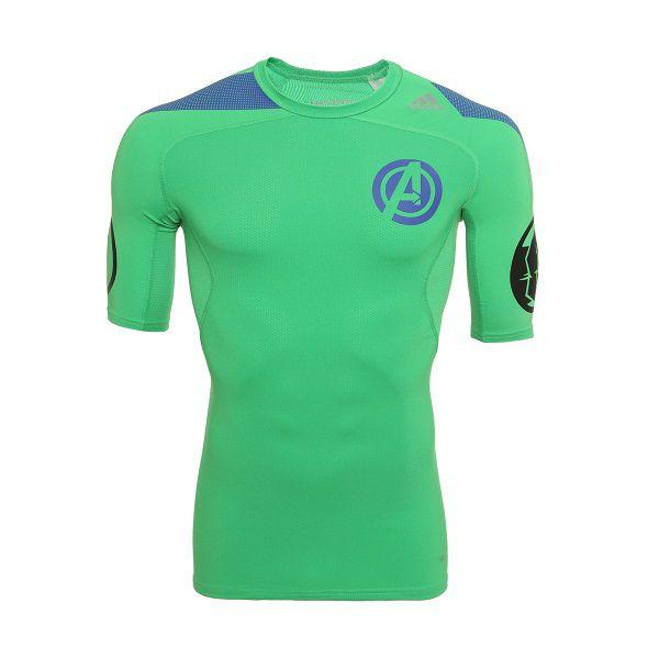 Camisa De Compressão adidas Ed Especial Marvel Vingadores Hulk