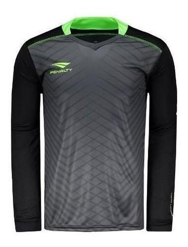 Camisa De Goleiro Penalty com Proteção Infantil Juvenil Futsal Futebol