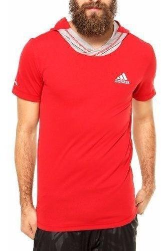 Camiseta adidas Basketball Com Capuz Estilo Hip Hop Wear