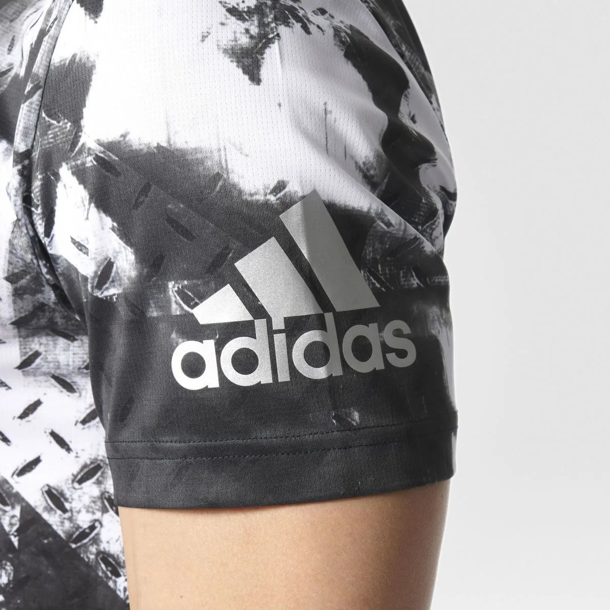 Camiseta adidas Climachill Running Tênis Fitness Crossfit