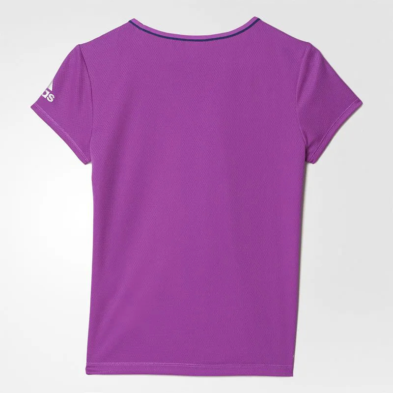Camiseta adidas Feminina Infantil Juvenil Climacool Fitness