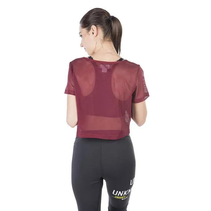 Camiseta Cropped Reebok Studio Crossfit Running Academia
