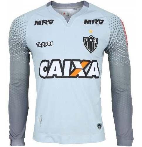 Camiseta De Goleiro Infantil Atlético Mineiro Topper 2017