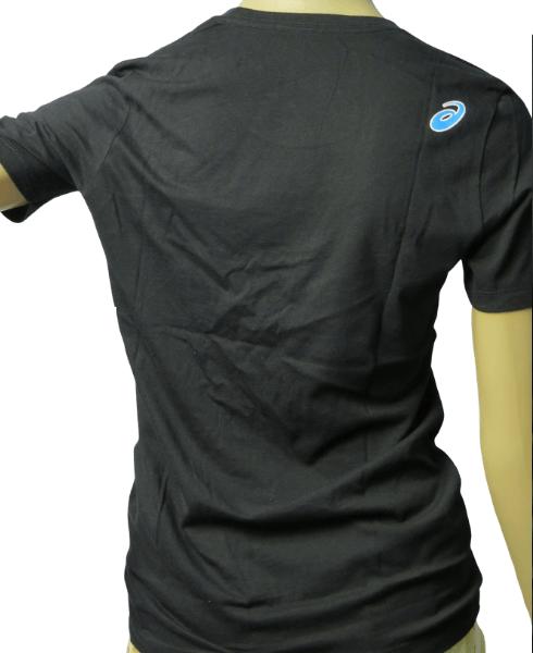 Camiseta Feminina Asics Preta Básica